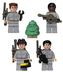 custom ghostbusters slimer mini figurines lego