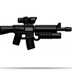 Buy Now Brick Arms 2 5 Scale Weapon M16AGL Acog