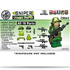 On SaleJungle Sniper Minifigure Gear Pack