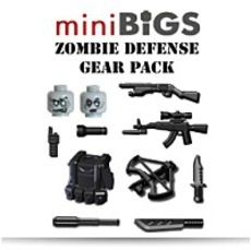 On SaleMini Bigs Zombie Defense Pack