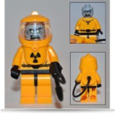 Zombie Hazmat Guy Custom Series 1 Minifigure