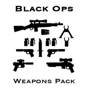 Brick Arms Exclusive Black Ops Weapons Pack