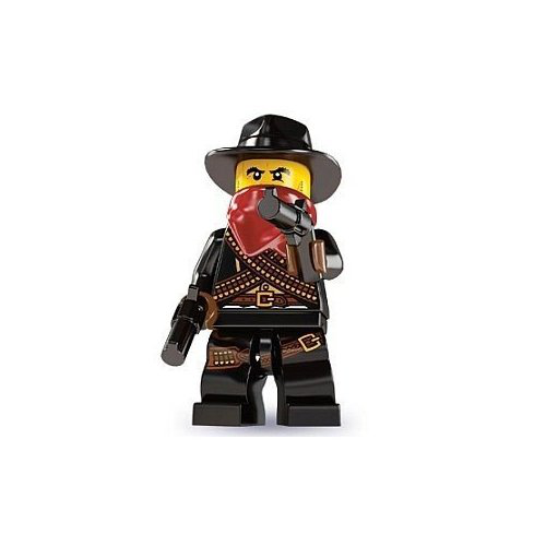 Lego Series 6 Bandit Mini Figure